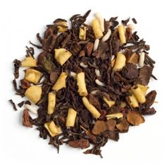 Chocolate Cake-This cocoa and cake-scented tea is just as rich and chocolaty as the real thing. With this in your cupboard, a smile is always within arm's reach. No baking or shopping required.