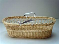 DIY Wicker Moses Basket Package - Natural