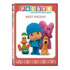 Pocoyo: Meet Pocoyo DVD -- This show makes my daughter laugh hysterically. It's about a young boy named Pocoyo and his animal friends. Stephen Fry does the narration. I highly recommend it for babies and up. (It's currently airing on Nick Jr.) - $7