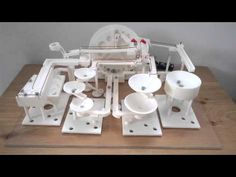 Marble Machine - YouTube Rolling Ball Sculpture, Marble Toys, Marble Machine, Kugel, Wooden Toys, Youtube, Automata, Marbles, Rollers