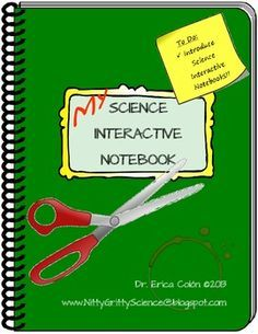 Intro to Science Interactive Notebooks - free now