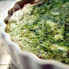 Broccoli quiche @ allrecipes.nl