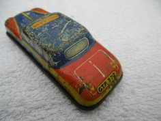 Tin/Metal POLICE CAR PATROL no.3 | eBay