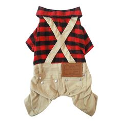 Homedeco Pet Dog Plaid Jumpsuit Bib Overalls Shirt Puppy Clothes * You can find more details by visiting the image link. (This is an affiliate link and I receive a commission for the sales) Small Dog Clothes, Puppy Clothes, Christmas Presents For Cats, Overall Jumpsuit, Salopette Jeans, England Fashion, Pet Puppy, Dog Cat, Plaid Fashion