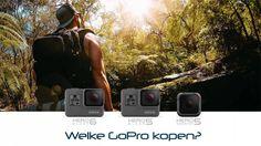 Welke GoPro moet ik kopen? Dat ligt helemaal aan je eisen en wensen. In deze post bespreek ik de verschillende voor en nadelen van de diverse modellen.