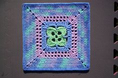 "Ravelry: Remember Me - 12"" Square pattern by Melinda Miller"