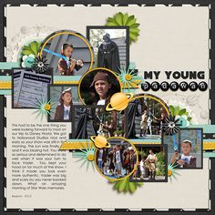 Kit: Lost in Space by Kristin Cronin-Barrow and Shawna Clingerman Template: Half Pack 13 by Cindy Schneider