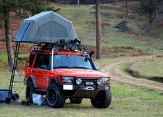 + ideas about Roof Top Campers Land Rover Camping, Land Rover Off Road, Land Rover Discovery 1, Discovery 2, Landrover Camper, Truck Camper, Range Rover, Offroader, Living On The Road