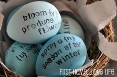 Easter Diction-Eggys - First Home Love Life