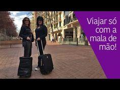 Como fazer a mala para viajar só com bagagem de mão - YouTube Dicas e truques para fazer tudo caber na mala de mão, com apenas 10 kgs