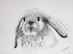 Popular items for pointillism drawing on Etsy