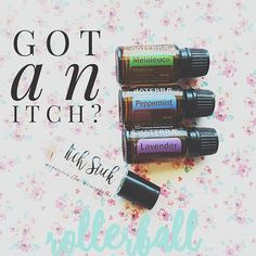 Itch Stick; to use rub directly on itch as needed. ➡10 drops Melaleuca, 10 drops Lavender, 10 drops Peppermint, fill glass rollerball with witch hazel or fractionated coconut oil. Dont have these?Purify blend works great too. We use this on bug bites!! #naturalsolutions #naturalhome #naturalmama #itchy #bugbites #summerfun #organiclife #happyhome #kidsolutions #nomoreitch #doterra #essentialoils #onelife #myoilylife❤
