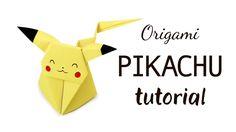 Origami Pikachu Tutorial Pokemon DIY Paper Kawaii #origami #paperkawaii