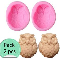 Cafolo 2 pcs Large Silicone Owl Soap Mold Molds DIY Handmade for soap Cake Chocolate Ornament Making x x Approx * Learn more by visiting the image link. (This is an affiliate link) Soap Cake, Diy Molding, Soap Molds, How To Make Ornaments, Amazon Art, Sewing Stores, Soap Making, Sewing Crafts, Owl