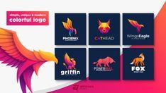 Make design a unique, modern and simple animal colorful logo by Artnivorastd