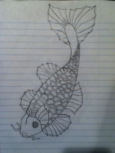 How to Draw a Koi Fish: 7 Steps (with Pictures) - wikiHow