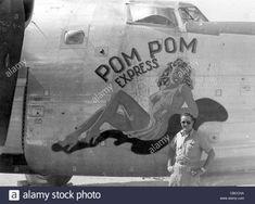 WW11 USAAF Liberator nose art Pom