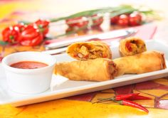 Santa Fe Rolls - a popular tex-mex snack