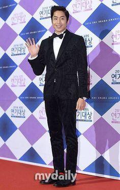 Eric Mun at KBS Drama Awards