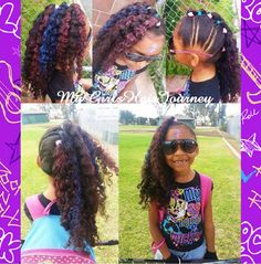 Rocking Curly PonyHawk  ♥  Great for Rock Star Day