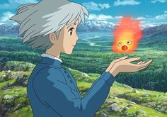 A shot from the adventurous Howl's Moving Castle. Ghibli can do no wrong! #studioghibli #ghibli #howlsmovingcastle #howl #movingcastle #film #cinema #movie #anime #japanese #japaneseanime #animation #miyazaki #hayaomiyazaki by weloveallmovies