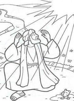 acts pauls conversion baptism pauls conversion coloring page