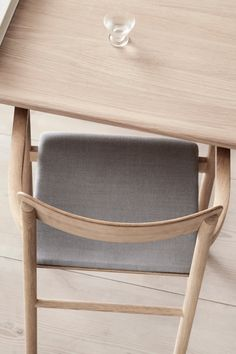 The Post Chair is upright and unassuming, with clean, classic lines. The plywood seat and back are light yet sturdy, while the arms offer just enough support with a minimal use of space. Wood Oil, Nordic Home, Wood Surface, Plywood, Painting On Wood, Solid Wood, Minimal, Arms, Pure Products