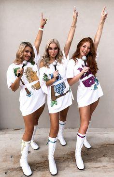Halloween Costumes Women Creative, Best Friend Halloween Costumes, Hallowen Costume, Trendy Halloween, Halloween Outfits, Costumes For Women, Diy Halloween, Costumes Kids, Sorority Halloween Costumes