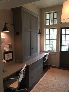 Home Office Designs - Home offices are now a norm to modern homes. Here are some brilliant home office design ideas to help you get started. Office Nook, Home Office Space, Office Workspace, Home Office Design, Home Office Decor, Home Decor, Office Ideas, Desk Space, Office Style