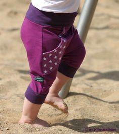 Freebook Mitwachshose Jojo - Sommerhose mit Tutorial für eine lange Version