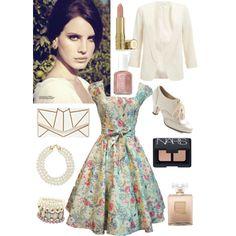 Lana Del Rey Vintage Style - Polyvore