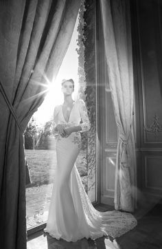 An amazing #weddingdress from #InbalDror 2013 #bridal collection