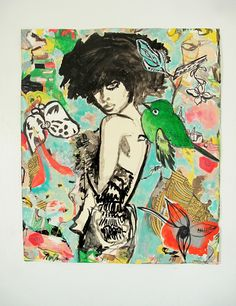 Micci Cohan Contemporary Original Mixed Media by MicciCohanNYC