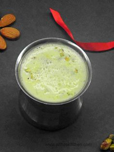 Masala Milk, Milk boiled with spices and saffron flavored