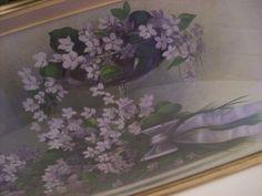 Antique lilac artwork