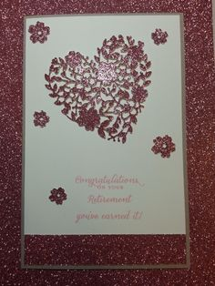 OMGoodness! What can I say?  This new Thinlits die from Stampin' Up is so beyond breathtaking in its intricacy, I fall in love every time I see it!
