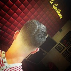 #ducktail of the day brought to you by  @barber_adagios  of #barberbarberuk. Extreme low #skinfade cut styled into a #da set with a dollop of #layritesuperhold pomade. #barber #barberfam #barberlife #fashion #noschoolbutoldschool  #hairstyle #mensstyle  #menshaircut #barbershop #hipster #skinfade #baldfade #KeepItTogether #layritestyle #menstyleguide #showcasebarbers #mensstyle #mensfashion #barberhub #beards #instagram  #baldfade #tattoos #layrite  #fashion #liverpool #crop #barberbarber