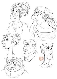Mégane Lepage, animation student (: