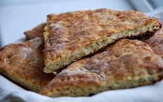 Быстрый овсяный хлеб с сыром