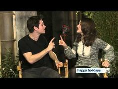 Teen Wolf - Happy Holidays from Dylan and Crystal!