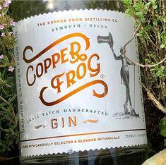 Home - Copper Frog Distilling London Dry Gin, Liquor Bottles, Devon, Berries, Copper, Delicate, Anniversary, Bury, Brass