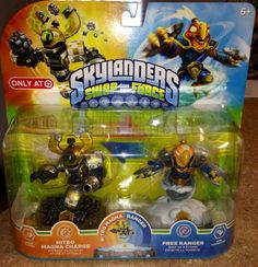 Skylanders SWAP FORCE  NITRO MAGNA CHARGE AND FREE RANGER     EXCLUSIVES