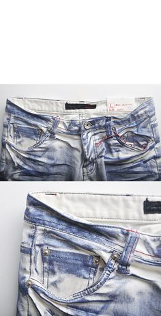 Bottoms :: Jeans :: Tough-chic Damage Skinny-Jeans 69 - Mens Fashion Clothing For An Attractive Guy Look Denim Jeans Men, Jeans Pants, Trousers, Clothing Co, Mens Clothing Styles, Denim Ideas, Best Jeans, Denim Outfit, Denim Fashion