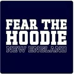 Fear the hoodie!!