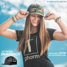 The new 1st Phorm Camo Snapback features an adjustable snap closure in the back to create a perfect fit; no matter what size dome you're lugging around on a daily basis. Its mid-profile design stretches to fit a wide variety of head sizes comfortably. How's the breathability, you ask? Oh, it's pretty damn excellent! Leaving your head dry and your hat less stinky in the long run. #1stphorm #legionofboom #neversettle #fitness #gym #apparel #hats #snapback