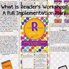 Reader's Workshop Full Implementation Plan: In this 230 page unit, you will find resources to completely implement Reader's Workshop and independent reading into your classroom.