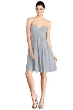 Donna Morgan 'Morgan' Bridesmaid Dress in Sterling | Weddington Way $178