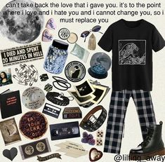 Retro Outfits, Cute Casual Outfits, Grunge Outfits, Grunge Fashion, Fashion Outfits, Aesthetic Vintage, Aesthetic Fashion, Aesthetic Clothes, Mode Style