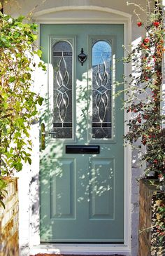 Not sure what composite door you want? Take a look at some of the beautiful composite door installations that Solidor has done and get inspired online here. Porch Doors, Entrance Doors, Windows And Doors, Doorway, Front Door Colors, Front Door Decor, Victorian Front Doors, Victorian Hallway, Vintage Doors