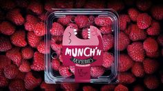 This Raspberry Packaging Might Eat Your Fruit Before You Get a Chance #food trendhunter.com